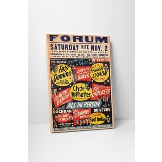'Forum' Gallery Wrapped Canvas Wall Art