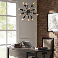 Modway Blaze 12-Light Metal Chandelier