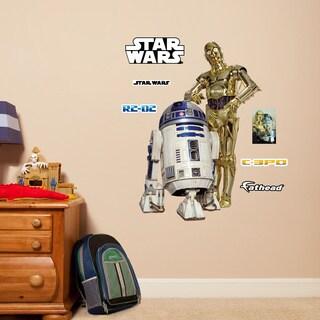 C-3PO & R2-D2 - Fathead Jr