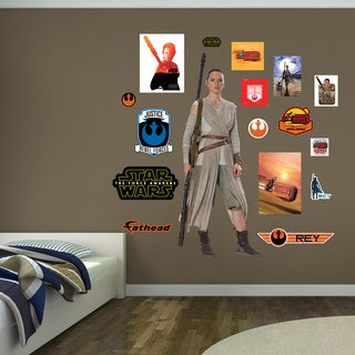 Fathead Star Wars Rey Wall Decal