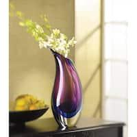 Spiral Glass Vase