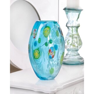 Florentine Art Glass Vase