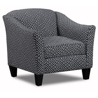 The Carlyle Kirkland Graphite Accent Chair