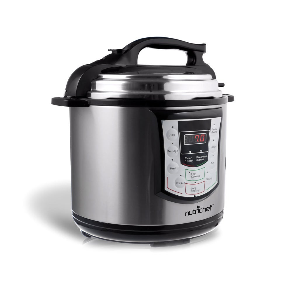 Pyle NutriChef PKPRC22 Digital Electronic Pressure Cooker...