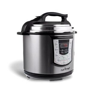 NutriChef PKPRC22 Digital Electronic Pressure Cooker + Slow Cooker