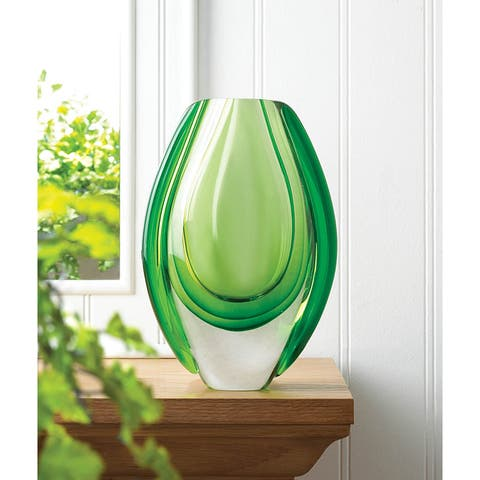 0b7eff5819c6 Buy Green Vases Online at Overstock | Our Best Decorative ...