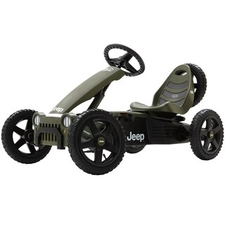 BERG Jeep Adventure Pedal Car