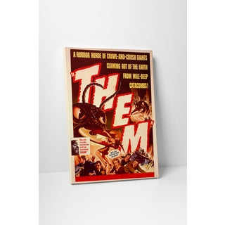 'Them' Gallery Wrapped Canvas Wall Art