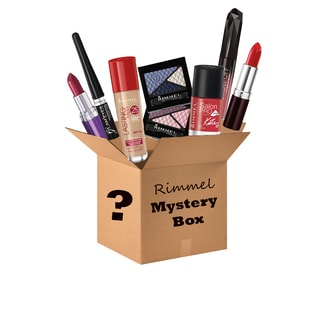 Rimmel 10-piece Cosmetics Mystery Box