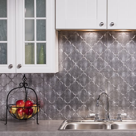 Phenomenal Buy Silver Backsplash Tiles Online At Overstock Our Best Download Free Architecture Designs Remcamadebymaigaardcom