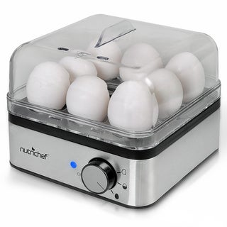 NutriChef PKEC40 Electronic Food Steamer and Egg Boiler