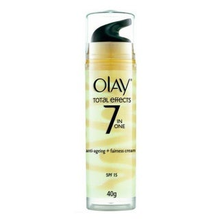 Olay Total Effects 7-in-1 Anti-aging + Fairness Cream SPF 15 UV Moisturizer