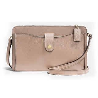 Coach Pebbled Leather Pop Up Messenger