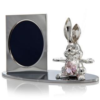 Matashi Cartoon Bunny Picture Frame with Genuine Matashi Crystals