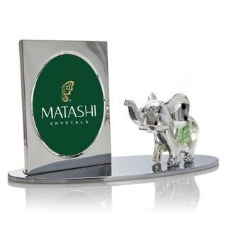 Matashi Cartoon Elephant Picture Frame with Genuine Matashi Crystals