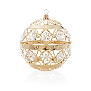 Matashi Gold Plated Everlasting Ornament with Genuine Matashi Crystals