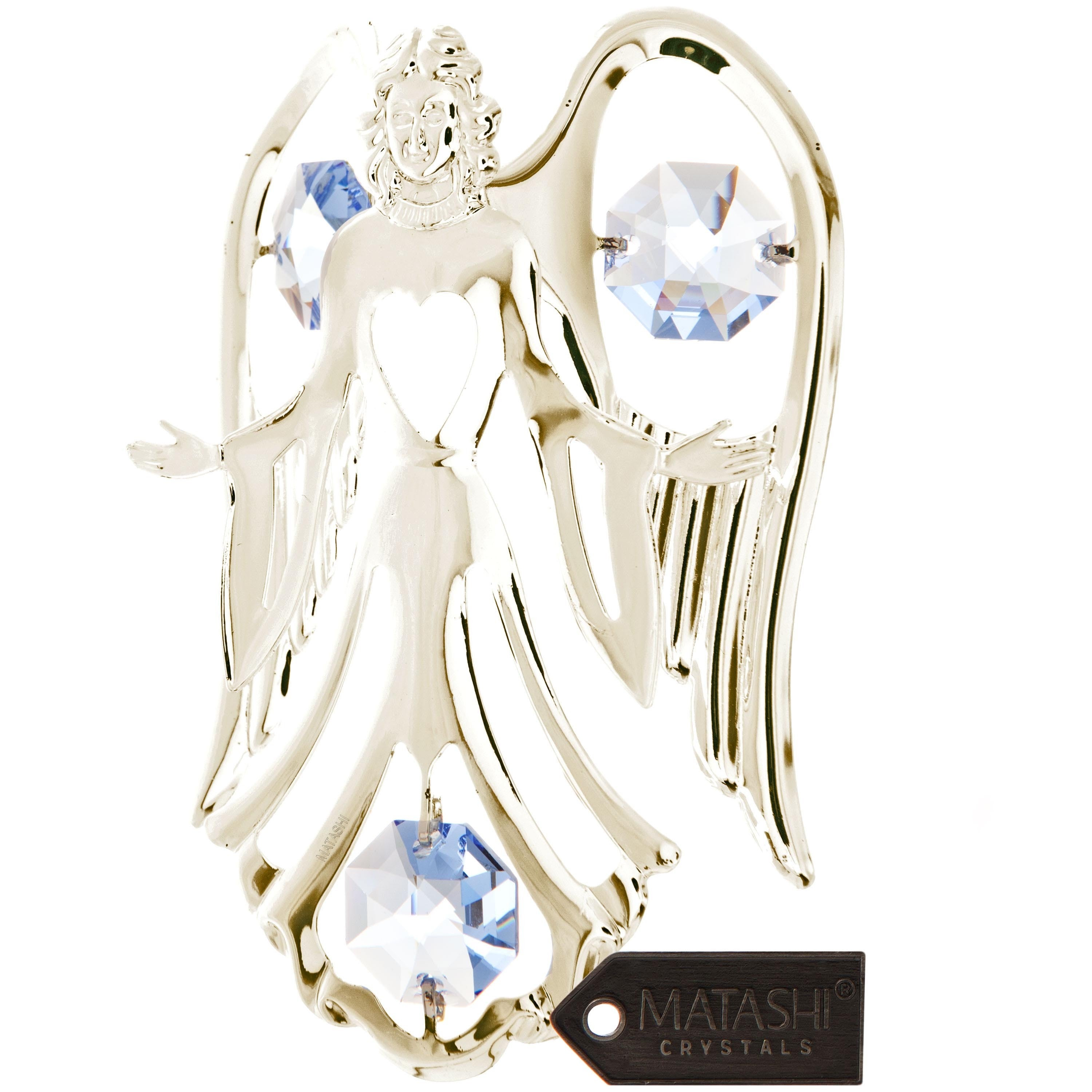 Matashi Silver Plated Highly Polished Stunning Open Arms ...