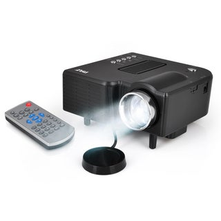 Pyle PRJG48 1080p Mini Compact Pocket Projector with USB/ SD Card Readers