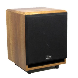 Theater Solutions Mahogany SUB10FM Front Firing Powered Subwoofer