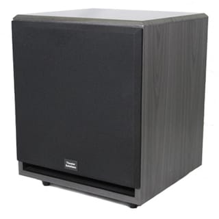 Theater Solutions Black SUB12F 500 Watt 12-Inch Surround Sound HD Home Theater Powered Active Subwoofer