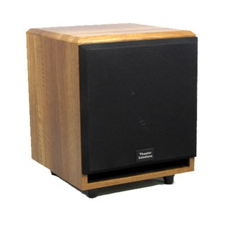 Theater Solutions Mahogany SUB6FM Front Firing Powered Subwoofer