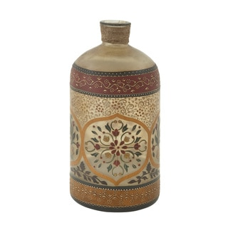 Glass Painted Bottle