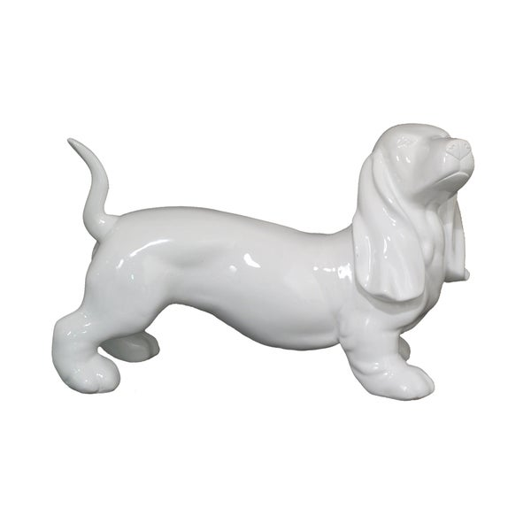 Resin Dog Figurine