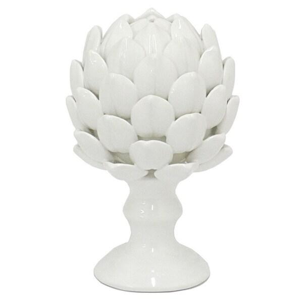 Ceramic Artichoke Finial