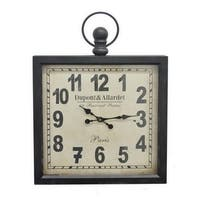 32-inch Metal Square Wall Clock