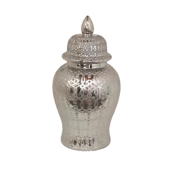 Silver Temple Jar by Generic