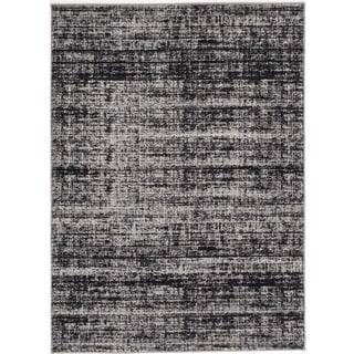ecarpetgallery Madiba Black/ Grey Rug (7' x 10')