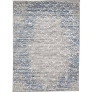 ecarpetgallery Madiba Grey/ Blue Rug