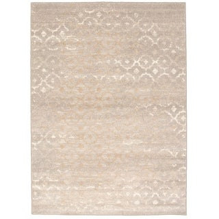 ecarpetgallery Madiba Grey Open Field Rectangular Rug (5' x 7')