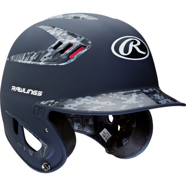 Rawlings 80MPH Two-tone Digi Navy Jr. Helmet