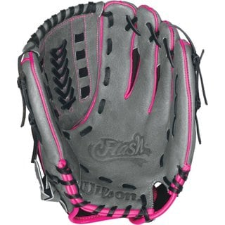 Wilson Flash FP115 11.5 Inch Fastpitch Softball Glove Left Hand Throw