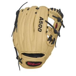 Wilson A500 1786 11 Inch Infield Baseball Glove Left Hand Throw