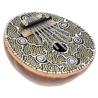 Hand-painted Kalimba Thumb Piano Karimba Mbira (Indonesia)