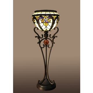Windyl 1-light Victorian 27-inch Tiffany-style Table Lamp|https://ak1.ostkcdn.com/images/products/10904005/P17936692.jpg?impolicy=medium