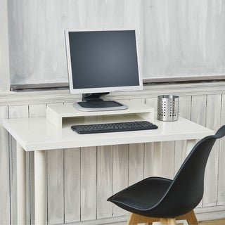 Ashton Eco Friendly Computer Monitor Stand Riser LIFETIME WARRANTY (made from sustainable non-toxic zBoard paperboard)