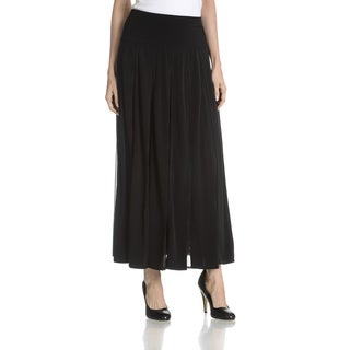 Joan Vass New York Women's Black Skirt