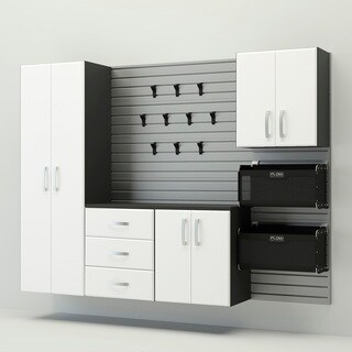 Flow Wall 6pc Deluxe Cabinet Set