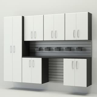Flow Wall 8 piece Cabinet Set