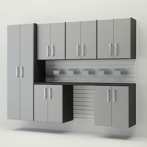 Flow Wall 8 piece Cabinet Set
