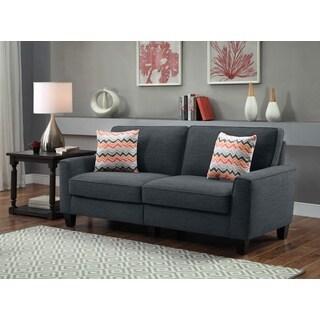 Serta RTA Vivienne Collection Alsina Charcoal 73-inch Sofa