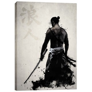 Link to Cortesi Home 'Ronin' by Nicklas Gustafsson Giclee Canvas Wall Art Similar Items in Canvas Art