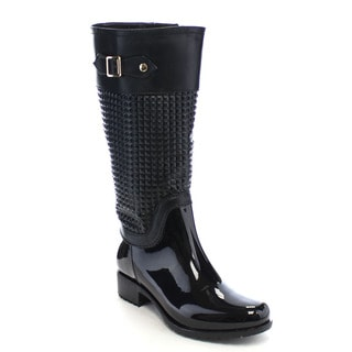 Beston CB33 Women's Knee High Rain Boots