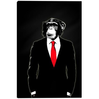 Cortesi Home 'Domesticated Monkey' by Nicklas Gustafsson Giclee Canvas Wall Art