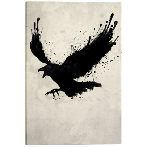 Cortesi Home 'Raven' by Nicklas Gustafsson Giclee Canvas Wall Art