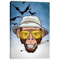 Cortesi Home 'Monkey Business in Las Vegas' by Nicklas Gustafsson Giclee Canvas Wall Art