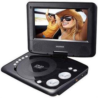 Sylvania Premium 7-inch Swivel Screen Portable DVD Player